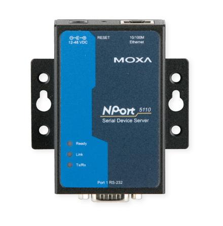 MOXA - TCP/IP interface
