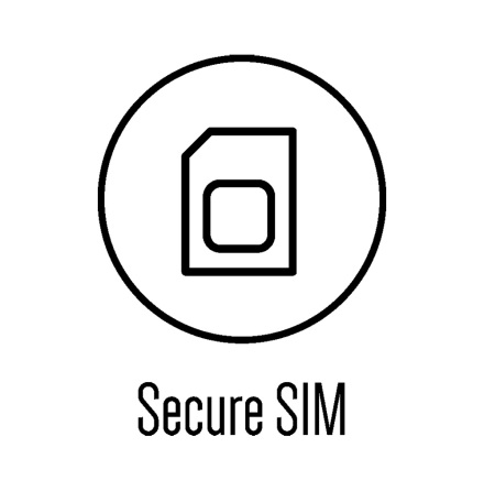 Simkort - DALM sändare - 24 månader - Data Europa